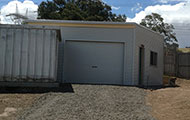 New Garage in Epping